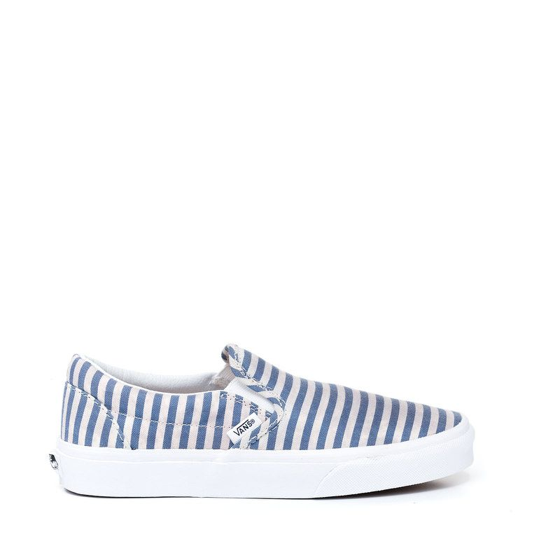 Vans tenisice Classic Slip-On (Stripes) navy