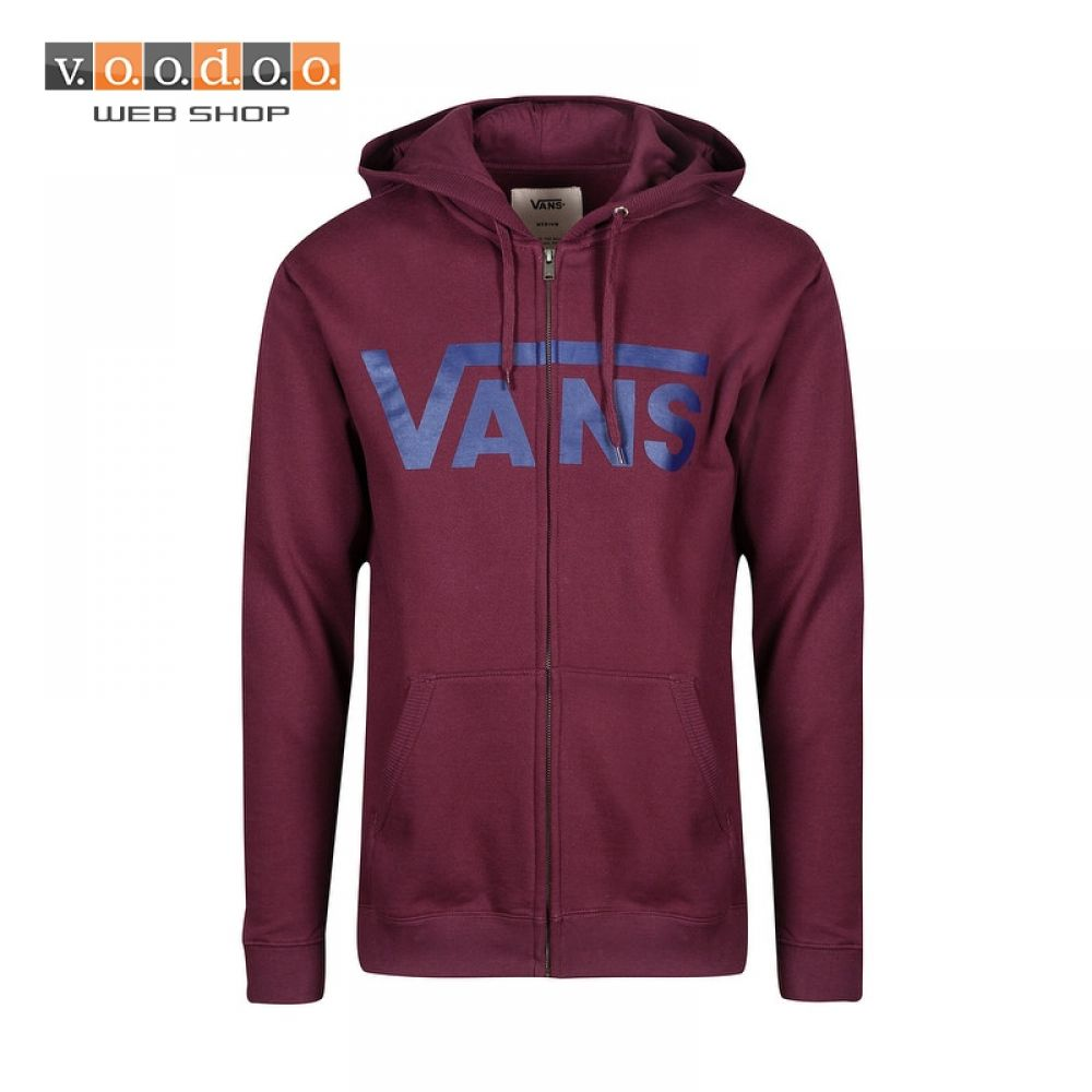 7888b5a7f48 Shoes and clothing. Vans Classic Zip Hoodie port royale dress blues