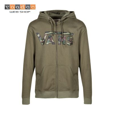 Vans majica Classic Zip Hoodie grape leaf/camo