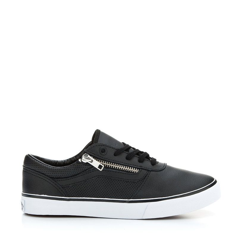Vans tenisice Milton Zip (Perf Leather) Black