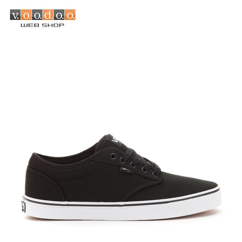 f27f4aaf3fe1 Vans Atwood (Canvas) black wht sneakers