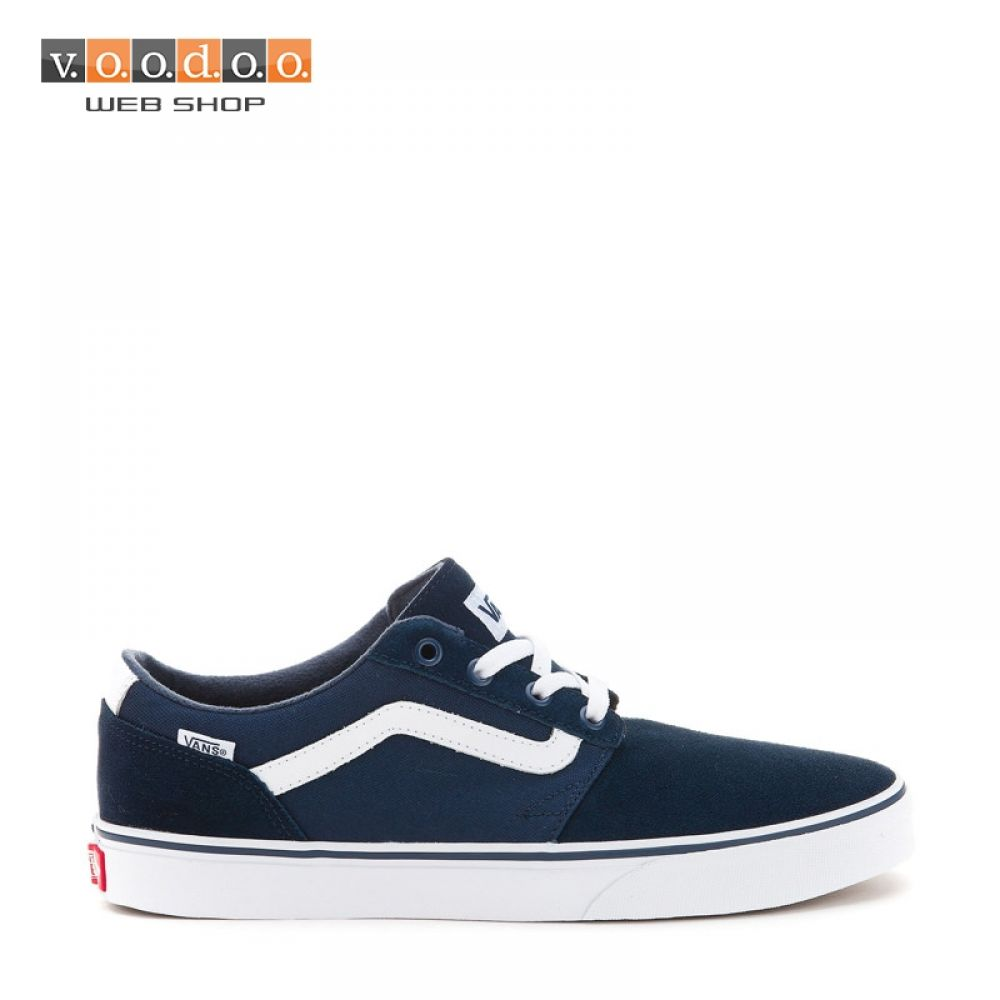 Vans tenisice Chapman Stripe (Suede Canvas) dress blues/white