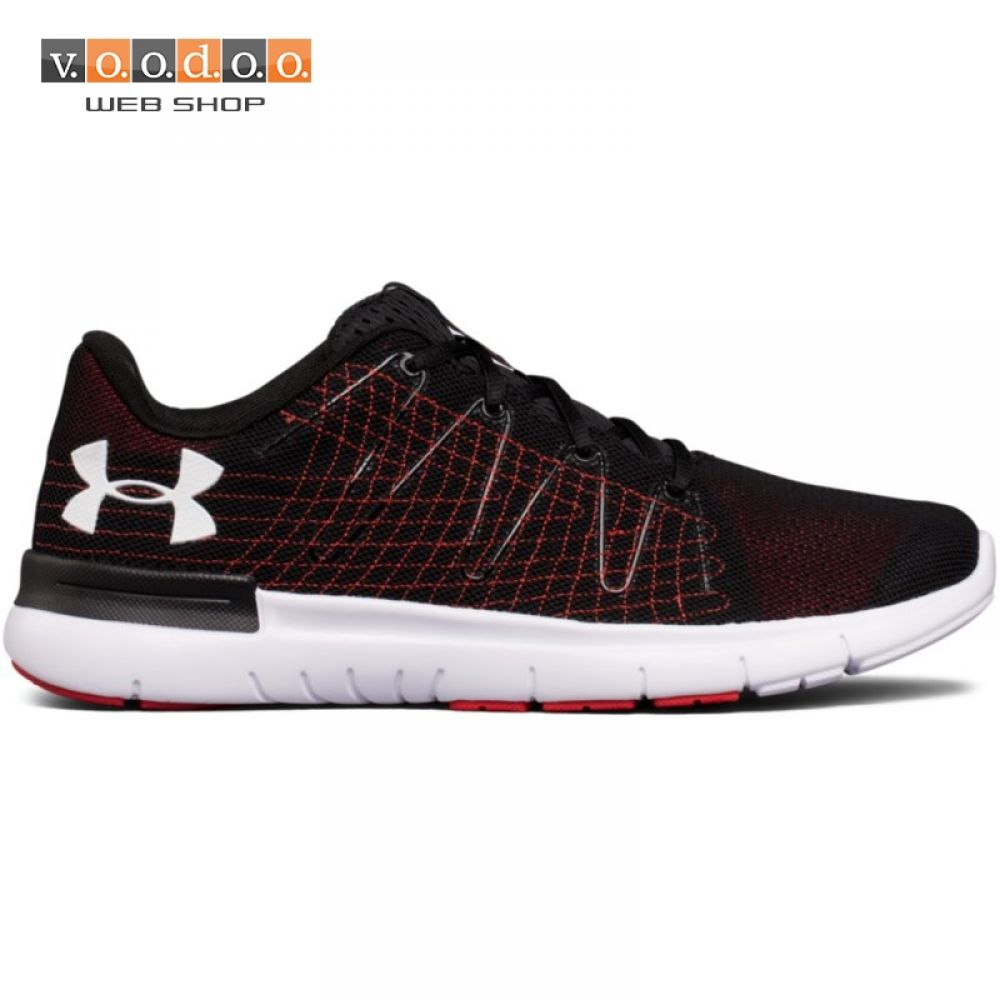 UNDER ARMOUR TENISICE THRILL 3-BLK/RED/WHT