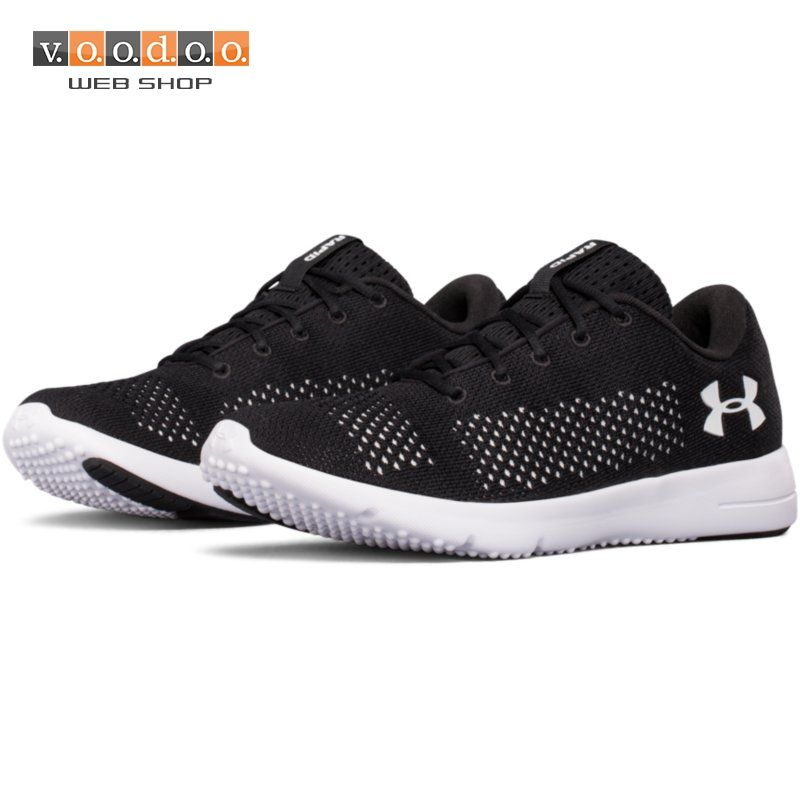 UNDER ARMOUR TENISICE W RAPID-BLK/WHT/WHT