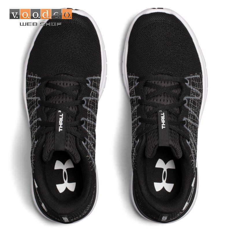 UNDER ARMOUR TENISICE W THRILL 3-BLK/RHG/WHT