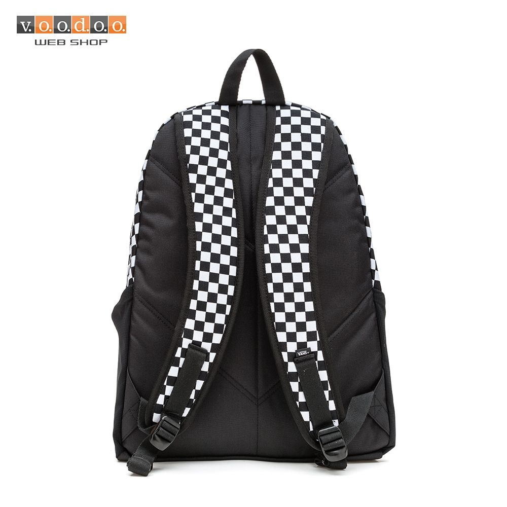 7b1fbde6f2 VANS VAN DOREN ORIGINAL BACKPACK BLACK/WHITE | Vans | Children ...