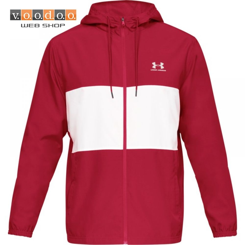 UNDER ARMOUR SPORTSTYLE WIND JAKNA RED/WHT