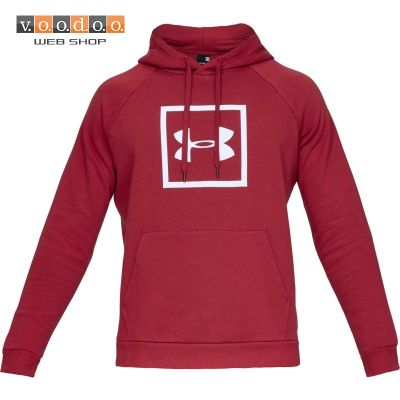 UNDER ARMOUR MAJICA RIVAL FLEECE LOGO RED