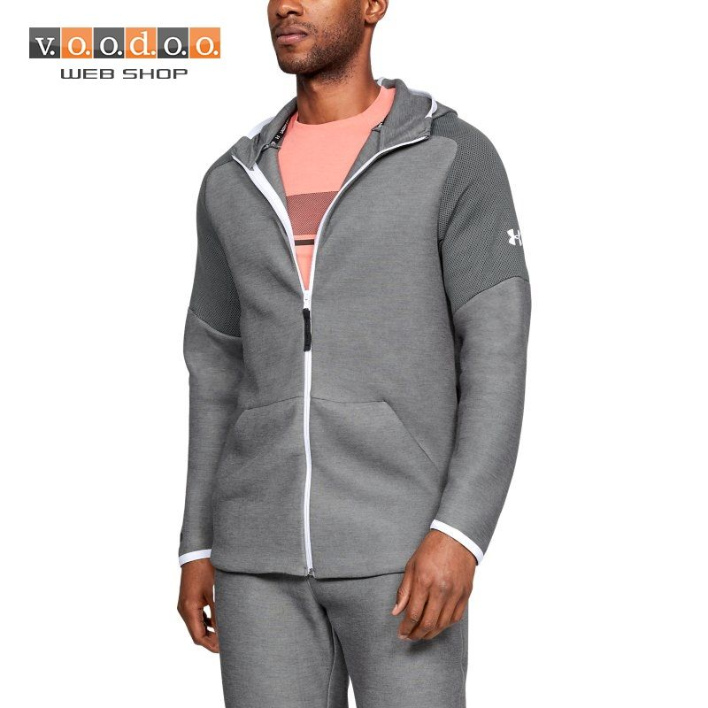 UNDER ARMOUR UNSTOPPABLE MOVE HOODIE GREY