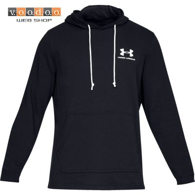 UNDER ARMOUR SPORTSTYLE TERRY HOODIE BLACK
