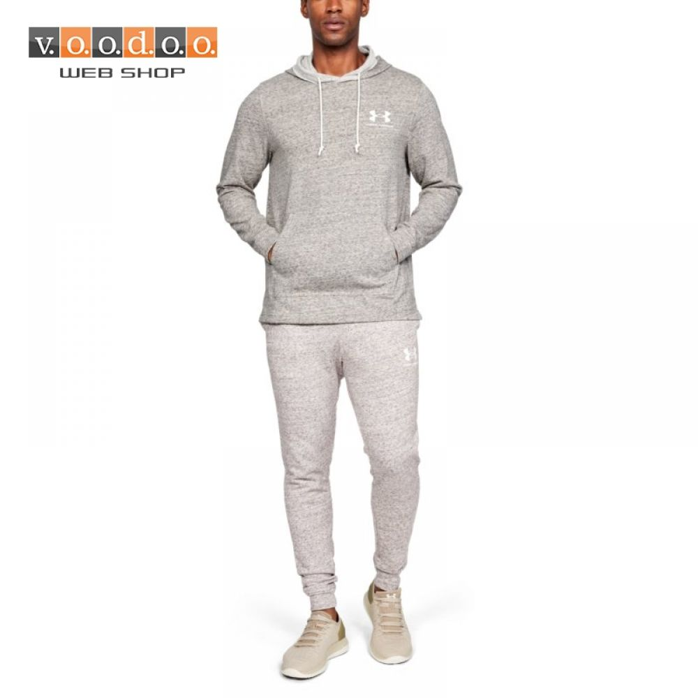 UNDER ARMOUR SPORTSTYLE TERRY HOODIE GREY