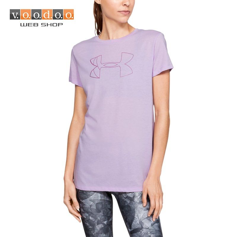 UNDER ARMOUR GRAPHIC BL CLASSIC CREW T-SHIRT PURPLE