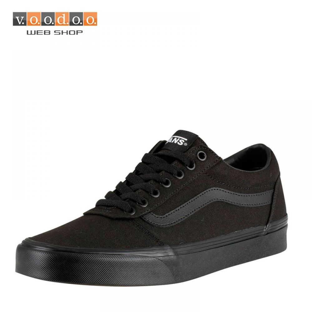 VANS TENISICE WARD (CANVAS) BLK/BLK KS